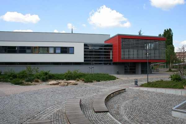 Sporthalle Gymnasium Coswig